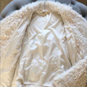 Hollister Jackets & Coats - Hollister Teddy Soft Off White Jacket Size XS/S.